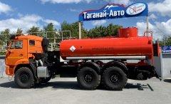 Автотопливозаправщик АТЗ-10 Камаз 43118-50 (УВТ за кабиной) купить от производителя