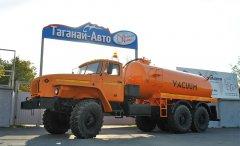 Вакуумная машина МВ-10 Урал 4320