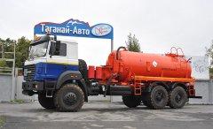 Вакуумная автоцистерна АКН-10 Урал 4320