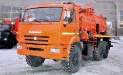 Вакуумная автоцистерна АКНС-10 Камаз 43118-46