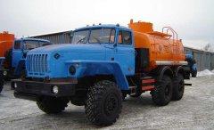 Автотопливозаправщик АТЗ-10 Урал 4320 купить от производителя