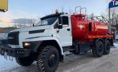 Автоцистерна нефтепромысловая АКН-10 Урал 4320-6952-72Е5Г38 купить от производителя