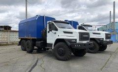 Передвижная паровая установка ППУА 2000/100 Урал 4320 NEXT купить от производителя
