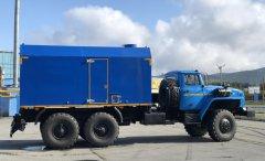 Передвижная паровая установка ППУА 2500/160 на шасси Урал 5557 купить от производителя