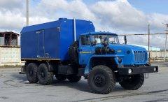 Передвижная паровая установка ППУА 2000/100 на шасси Урал 5557 купить от производителя