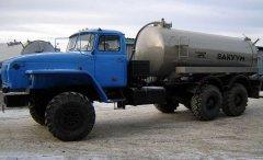 Вакуумная машина МВ-8 Урал 4320