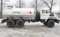Автотопливозаправщик АТЗ-12 Урал 432007 купить от производителя