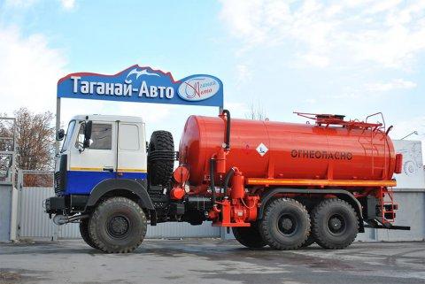 Вакуумная автоцистерна АКН-15 МАЗ 6317Х5