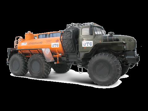 Автотопливозаправщик АТЗ-5 Урал-полярник