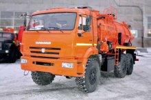 Автоцистерна вакуумная АКНС-10 Камаз 43118-50 купить от производителя