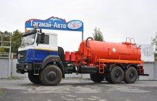 Вакуумная автоцистерна АКН-10 Урал 4320 купить от производителя