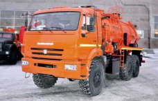 Вакуумная автоцистерна АКНС-10 Камаз 43118-50 купить от производителя