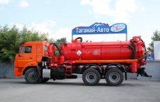 Вакуумная автоцистерна АКНC-10 Камаз 65115 купить от производителя