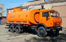 Автотопливозаправщик АТЗ-12 Камаз 65111