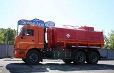 Автотопливозаправщик АТЗ-17 Камаз 65115