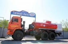 Автотопливозаправщик АТЗ-8 Камаз 43118