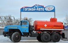 Автотопливозаправщик АТЗ-10 Урал-5557-1112-60M