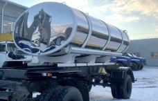 Прицеп-цистерна для перевозки питьевой воды с термоизоляцией ПЦПТ-8 купить от производителя