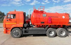 Вакуумная автоцистерна АКН-12 Камаз 65115 купить от производителя