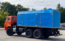 Передвижная паровая установка ППУА-2500/160 на шасси КамАЗ 43118 купить от производителя