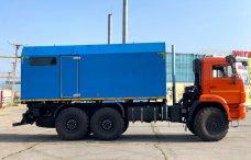 Передвижная паровая установка ППУА-2000/100 на шасси КамАЗ 43118 купить от производителя