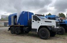 Передвижная паровая установка ППУА 1600/100 Урал 4320 NEXT купить от производителя