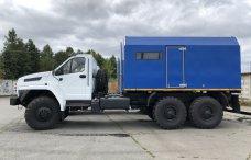 Передвижная паровая установка ППУА 2500/160 Урал 4320 NEXT купить от производителя