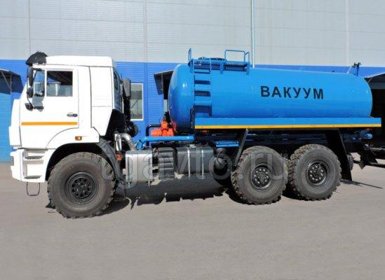 Вакуумная машина МВ-12 Камаз 43118