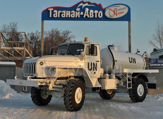 Вакуумная машина МВ-3,5 Урал 432067-3601112 купить от производителя