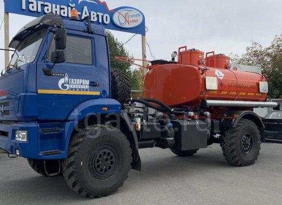 Автотопливозаправщик АТЗ-6 Камаз 43502-3036-66 купить от производителя