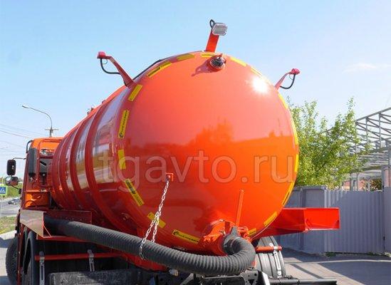 Вакуумная машина МВ-12 Камаз 65115 купить от производителя