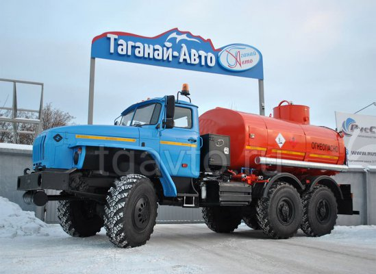 Автотопливозаправщик АТЗ-10 Урал-5557-1112-60M купить от производителя