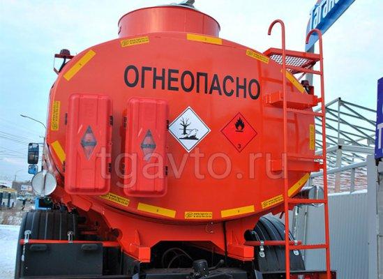Автотопливозаправщик АТЗ-10 Урал-5557-1112-60Е5 купить от производителя