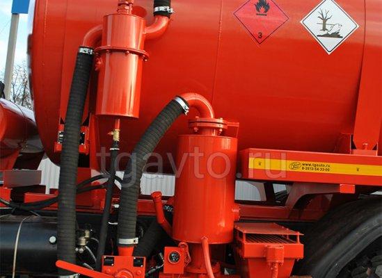 Вакуумная автоцистерна АКН-15 МАЗ 6317Х5 купить от производителя