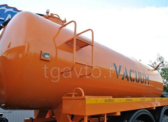 Вакуумная машина МВ-10 Урал 4320 купить от производителя