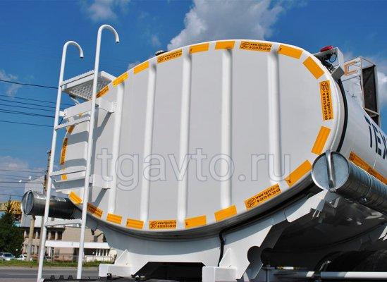 Автоцистерна для технической воды АЦВ-8 Камаз 43253 купить от производителя