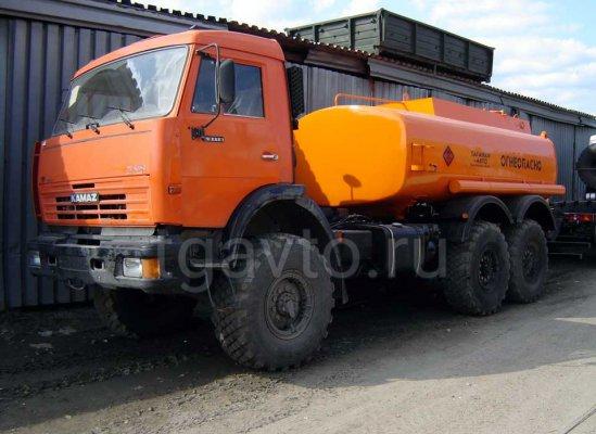 Бензовоз АЦ-10 Камаз 43118 для светлых ГСМ купить от производителя