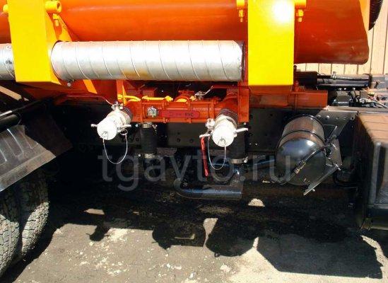 Бензовоз АЦ-12 Камаз 65115 для светлых ГСМ купить от производителя