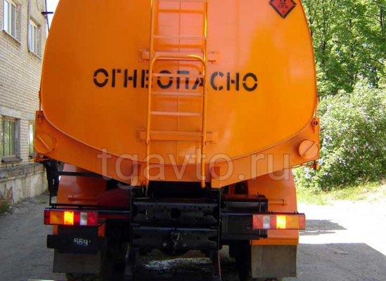 Бензовоз АЦ-16 МАЗ 6317X5 для светлых ГСМ купить от производителя