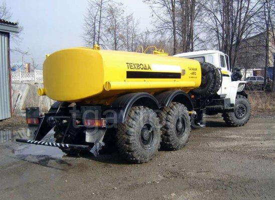 Автоцистерна для технической воды АЦВ-10 Урал 4320 купить от производителя