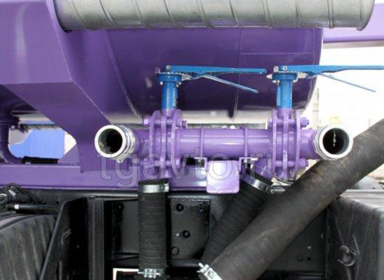 Автоцистерна нефтепромысловая АЦН-17 Камаз 65224 купить от производителя