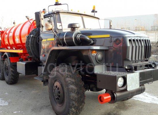 Вакуумная автоцистерна АКН-10 Урал 4320-60Е5 купить от производителя