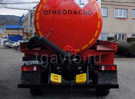 Вакуумная автоцистерна АКН-8(10) Урал 4320 купить от производителя