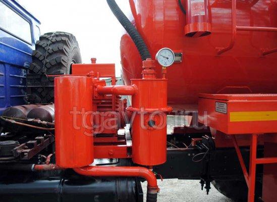 Автоцистерна вакуумная АКН-10 Урал 4320-61Е5 купить от производителя