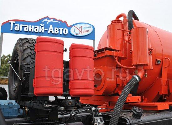 Вакуумная автоцистерна АКН-10 Урал 4320-81Е5 купить от производителя