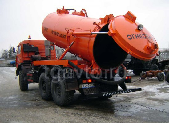 Автоцистерна вакуумная АКНС-11 Камаз 43118-50 купить от производителя