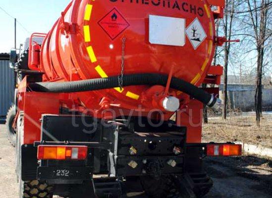 Вакуумная автоцистерна АКН-12(18) МАЗ 6317X5(6317X9) купить от производителя