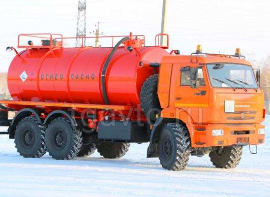 Вакуумная автоцистерна АКН-15 Камаз 43118 купить от производителя