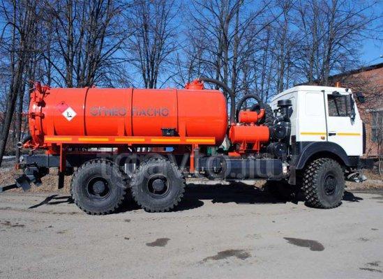 Автоцистерна вакуумная АКН-12 МАЗ 6317X9 купить от производителя