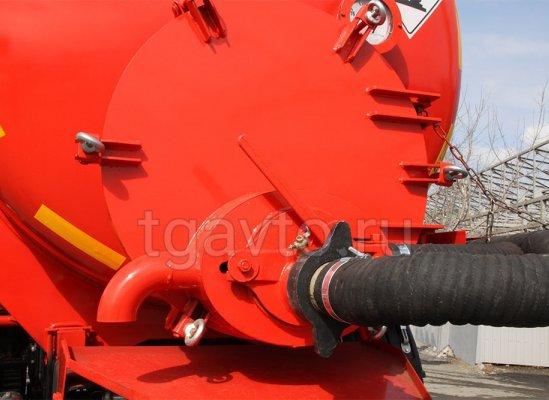 Вакуумная автоцистерна АКН-10 Камаз 43118 купить от производителя